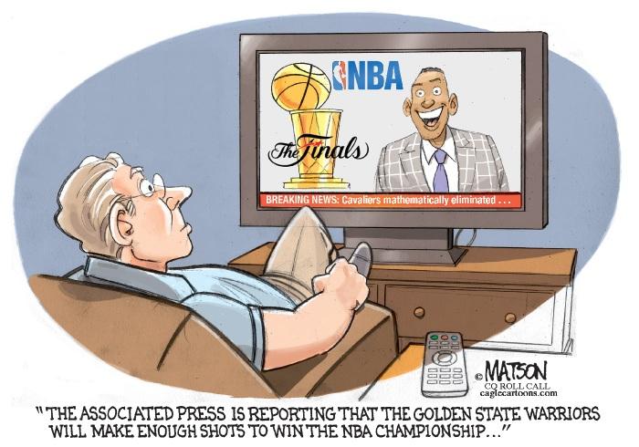 AP calls winner of NBA finals