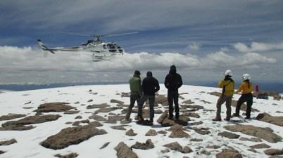 Longs Peak rescue operation, June 3, 2016