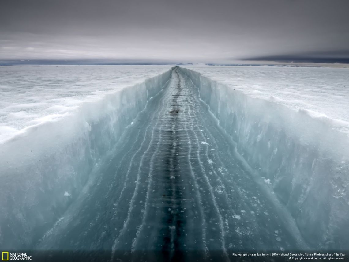 """Crack in the Ice"" by Alasdair Turner"