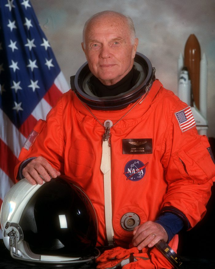 John Glenn (Photo: NASA)