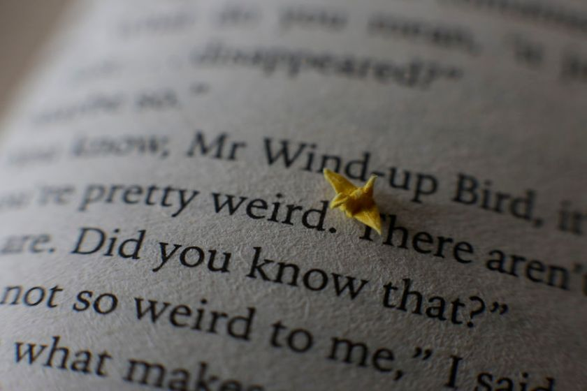 Tiny origami crane by David Kawai (Photo: David Kawai)