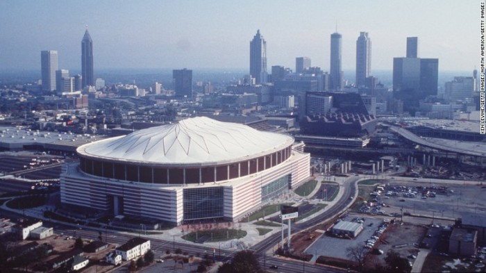 Atlanta's Georgia Dome, 1992-2019