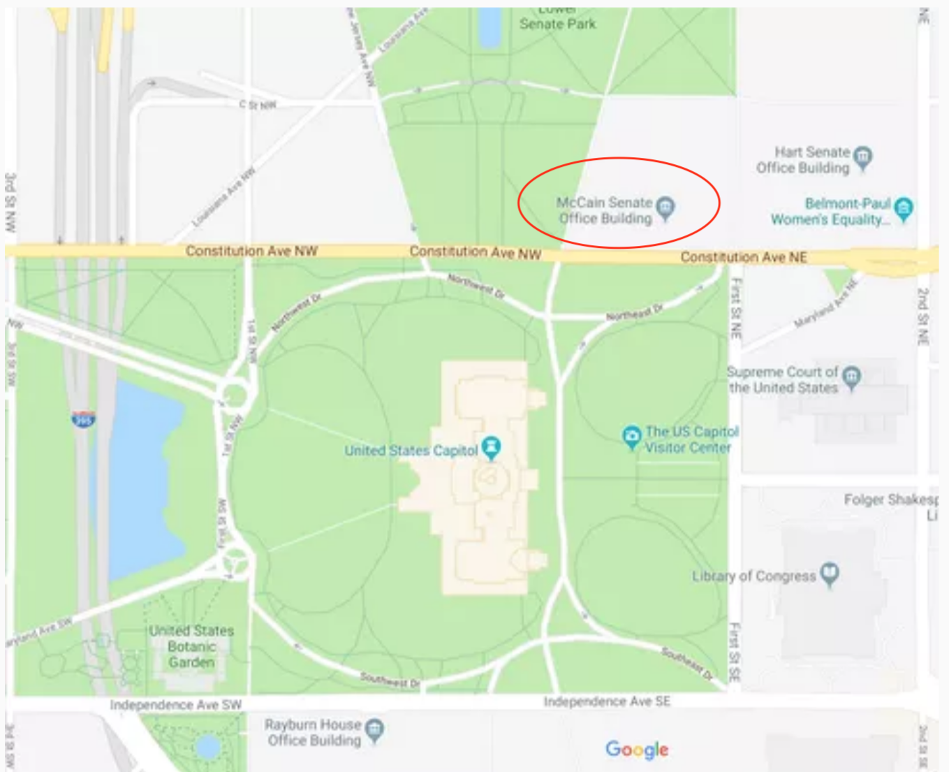 google maps a pied