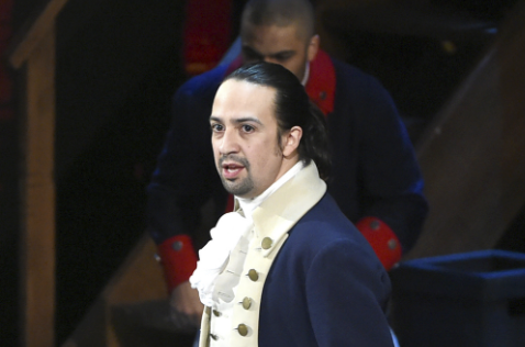 Lin-Manuel Miranda as Alexander Hamilton. Brilliant.