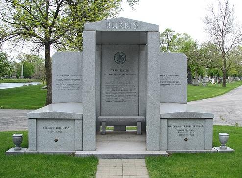 Burris tombstone