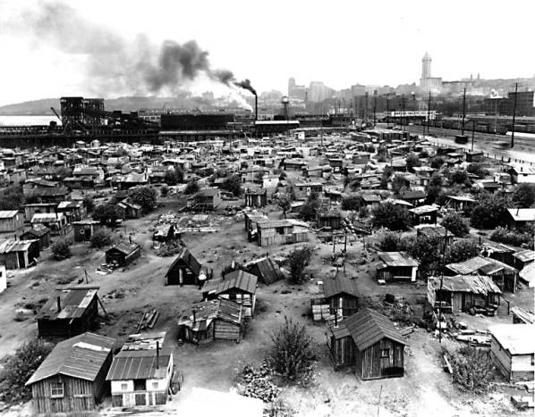 Hooverville in Seattle
