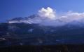 Longs Peak in winter