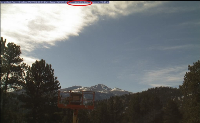 Long Peak Cam view (click to enlarge)