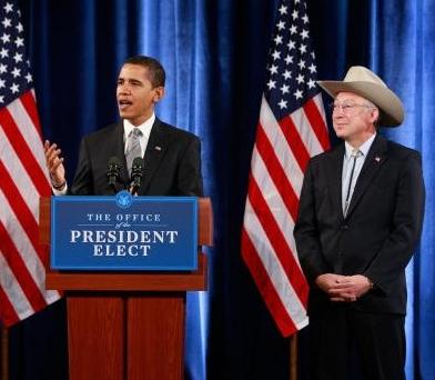 Obama and Salazar